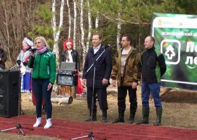 Пенза, Золоторевка, PosadiLes, весна-2018-3